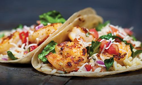 Pancheros Mexican Grill Offers Shrimp Scampi Tacos For A Limited Time