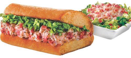 Quiznos Makes Splash With Lobster