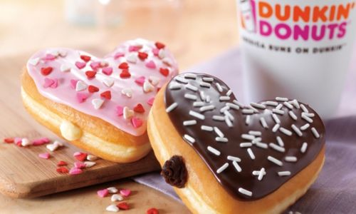 Sweet And Easy Ways To Celebrate Valentine's Day At Dunkin' Donuts