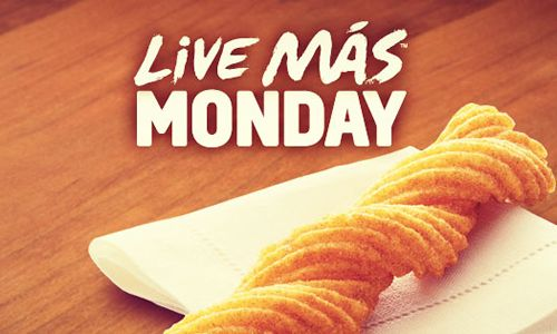 Taco Bell LIVE MÁS Monday: Free Churros with Any Purchase Today, Feb. 4