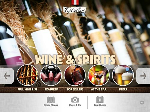 TopCellar Pro Digital Menu App Now Available on iTunes