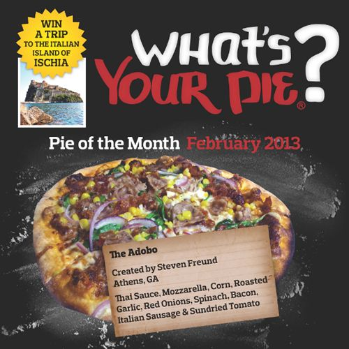 Your Pie Announces February 'Pie of the Month' Winner
