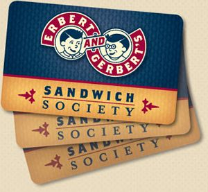 Erbert & Gerbert's Announces Sandwich Society Showdown Sweepstakes