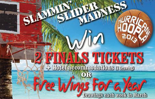 Hurricane Grill & Wings Celebrates College Basketball With Annual Hurricane Hoopla Giveaway