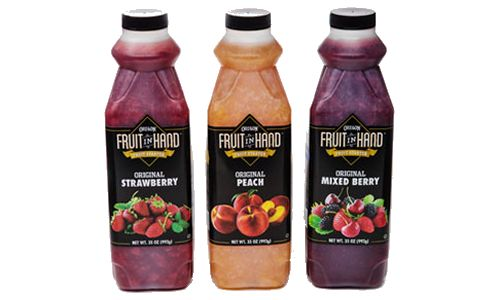 "Oregon Fruit Products Co. Debuts ""Fruit In Hand"" Fruit Starter Foodservice Brand"