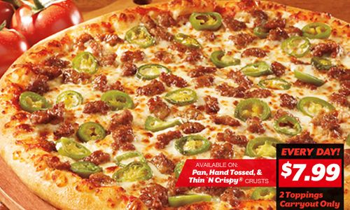 Pizza Hut Hut Lovers Deal