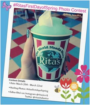 Rita's Italian Ice Announces First Taste of Spring Instagram and Twitter Photo Contest