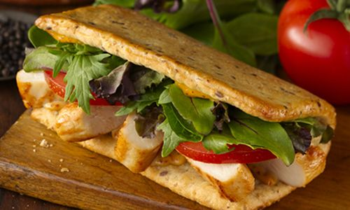 Wendy's Flatbread Grilled Chicken Sandwiches