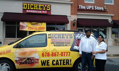 Alpharetta Welcomes New Dickey's Barbecue Pit