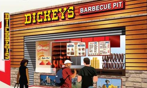 Dickey's Barbecue 300th Location Takes off at Love Field