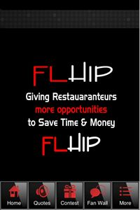 FLHIP APP great for restaurants and their Vendors