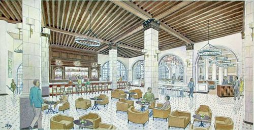 Hotel Galvez, A Wyndham Grand Hotel, Renovates Lobby, Bar and Restaurant