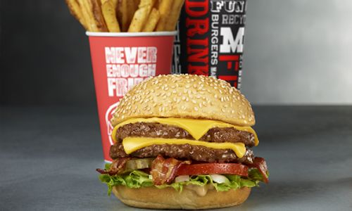 MOOYAH Burgers, Fries, & Shakes Features Fans with Featured Burgers