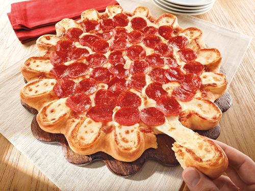 Pizza Hut Crazy Cheesy Crust Pizza