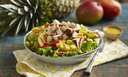 Pollo Tropical Introduces Tangy Pineapple Chicken Wrap and Chicken Salad for a Limited Time
