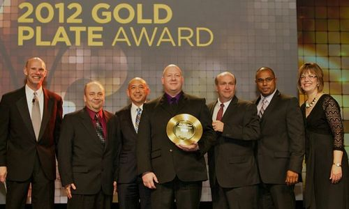 Popeyes 2012 International Gold Plate Award Winner