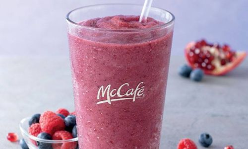 McDonald's Kicks Off Summer With New McCafe Smoothie and Shake
