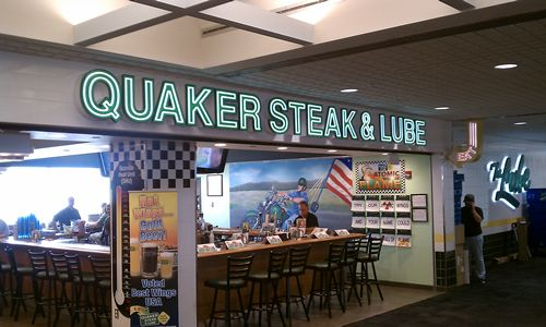 Quaker Steak & Lube Takes Flight With New Restaurant in Pittsburgh International Airport