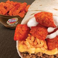 Taco Bell reintroduces Beefy Crunch Burrito with Fritos corn chips inside