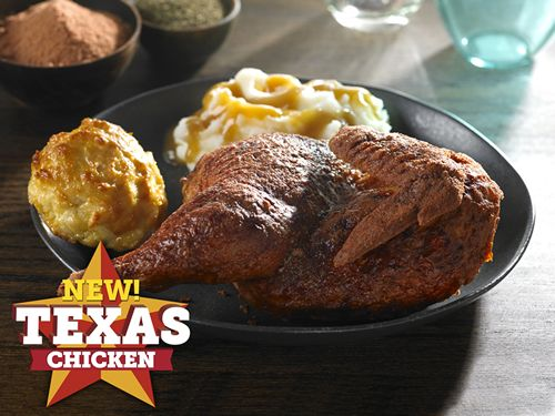 New Texas Chicken Makes Its Debut On The Menu At Church's Chicken - All The Flavors Of Your Favorite Backyard Grilled Chicken