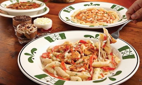 Olive Garden Opens in Rosemead