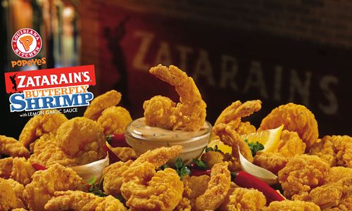 Popeyes Brings Back Delicious Duo, Zatarain's Butterfly Shrimp