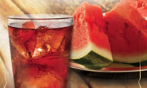 Cowboy Chicken New Watermelon Tea Joins Summer Menu Along With Fresh Cut Watermelon
