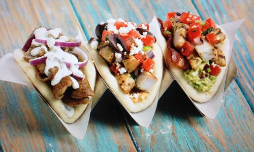 "Daphne's California Greek Adds ""Flavors of Daphne's"" Mini-Pita Trio to Summer Menu"