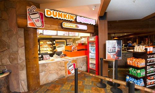 Dunkin' Donuts Checks Into Great Wolf Lodge in Michigan and Virginia