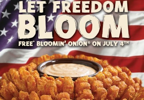 Outback Steakhouse Lets Freedom Bloom on July 4th