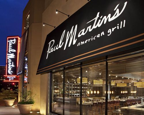 Paul Martin's American Grill to Open on July 8 at the Hillsdale Shopping Center in San Mateo