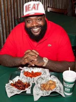 Rick Ross Celebrates National Chicken Wing Day with New Wingstop