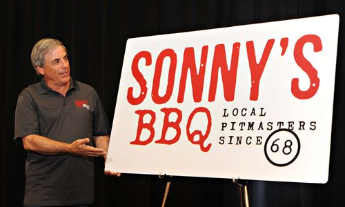 Sonny's Real Pit Bar-B-Q Unveils New Branding