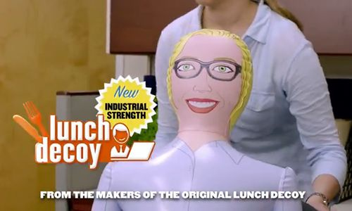 Lunch Taking a Toll? Let Applebee's Industrial Strength Lunch Decoy Stand In