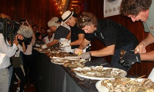 Eleventh Annual 'Grand Central Oyster Frenzy' Presented By Blue Island Oyster Farms Set For Sept. 28