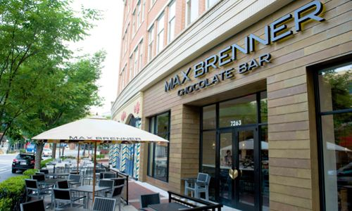 Max Brenner Chocolate Bar Opens in Bethesda