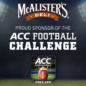 McAlister's Deli Teams Up With Atlantic Coast Conference For McAlister's ACC Football Challenge Mobile App