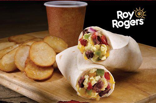 Roy Rogers Restaurant Introduces New Chorizo Breakfast Wrap and Hazelnut Choco Shake