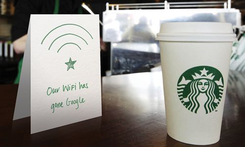 Starbucks Teams up with Google to Bring Next-Generation Wi-Fi Experience to Customers