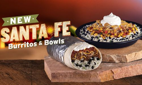 Taco John's Santa Fe Burritos and Bowls Exceed Expectations During First Month of Sales