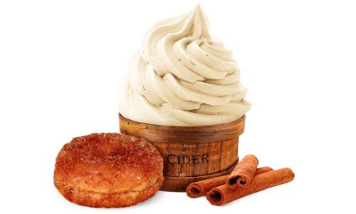 16 Handles Spices up Fall with Cider Doughnut Fro-Yo