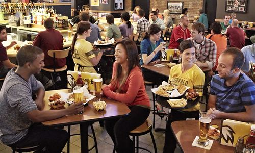 Best Casual-Dining Restaurant for Both Prices and Selection of Alcoholic Beverages is Buffalo Wild Wings