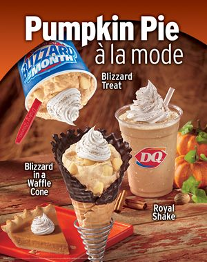 Dairy Queen Features Flavorful Favorites this Fall