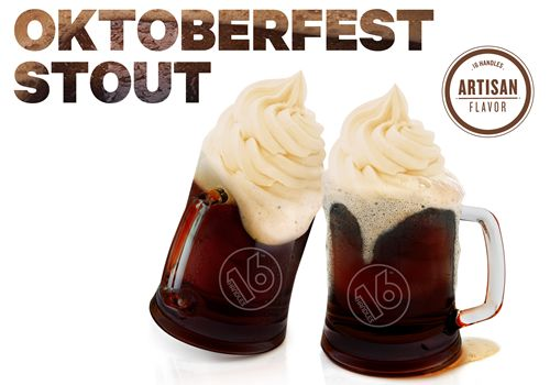 16 Handles Says Cheers to October with Limited-Edition Flavor: Oktoberfest Stout Fro-Yo