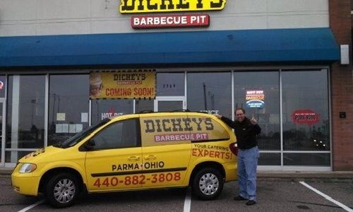 Dickey's Barbecue Pit Throws Big Party for Parma