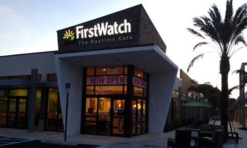 First Watch Relocates Boca Village Square Restaurant