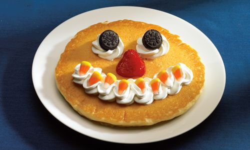 "It's a Scary October When IHOP Restaurants Bring Back the ""Scary Face"" Pancake - and a Special Halloween Treat on October 31 When Kids under 12 Get a ""Scary Face"" Pancake Free!"