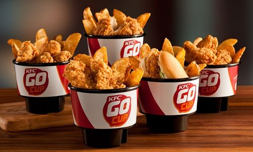 KFC Upgrades Snacking for On-the-Go Consumers with Introduction of Go Cup
