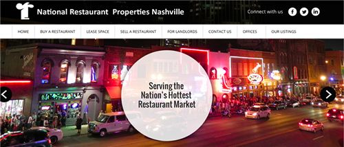 National Restaurant Properties of Nashville Launches New Website