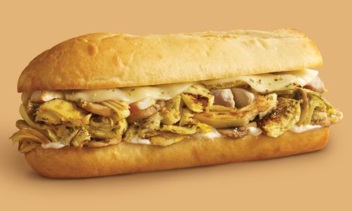 Penn Station East Coast Subs Offers Chicken Artichoke Sandwich for November